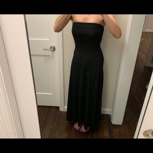 GAP Black Maxi Dress